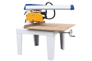 """Radial arm saw with 12"""" Blade and 24"""" Crosscut, 3HP 3 Phase"""