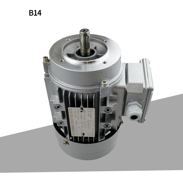 Electric motor Aluminum Frame three phase General Purpose B3 (foot mounted) AC type