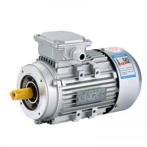 Electric motor Aluminum Frame three phase  B14 flange mounted