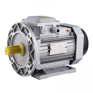 Electric motor Aluminum Frame three phase B35 flange foot mounted