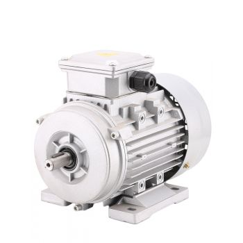 Electric motor Aluminum Frame three phase B3 foot mounted