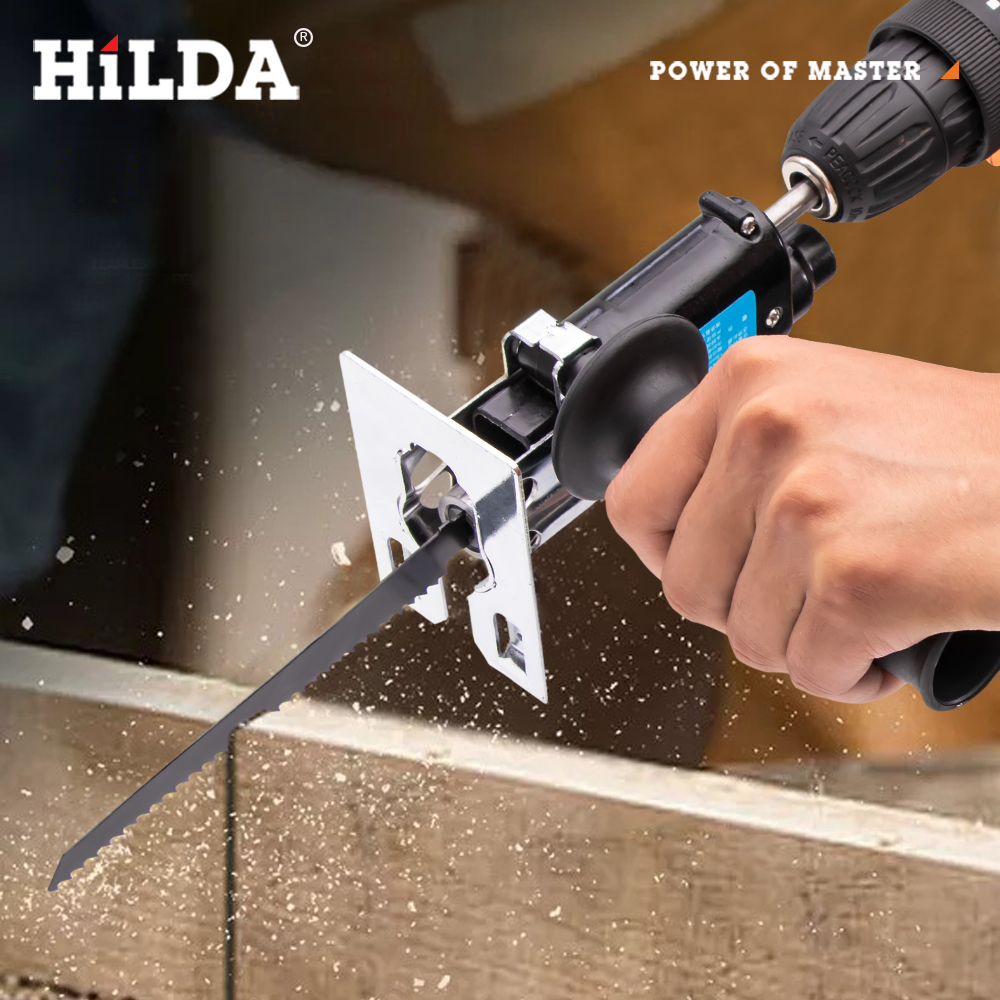 Reciprocating saw With Blades